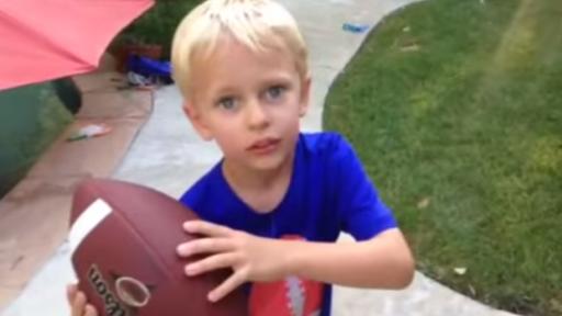 Kid's Got an Arm That Can Pull Teeth