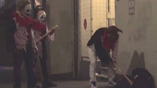 Killer Clown Prank Goes From Scary to...Fake?