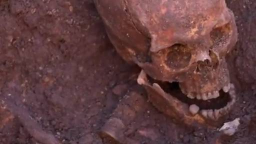 King Richard III's Skeletal Remains Found Under Car Park