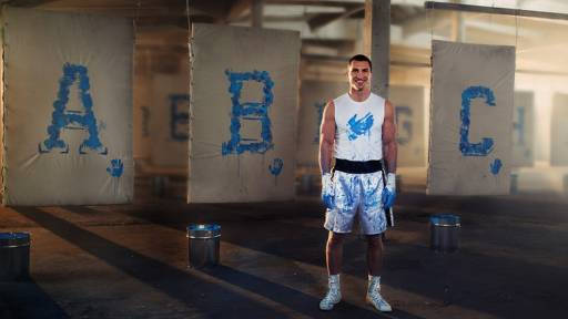 Boxing Champ 'Knocks Out' Alphabet to Battle Illiteracy