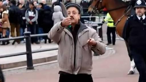 Police Tase Knife-Wielding Man Outside of Buckingham Palace