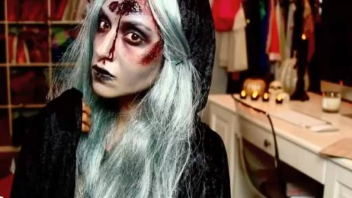 Original Video: The Weeping Woman Halloween Tutorial