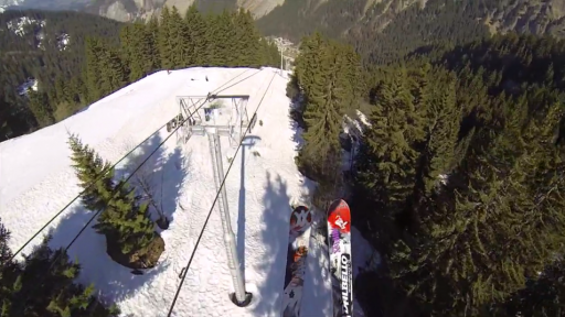 A New Way to Ride Ski Lifts!