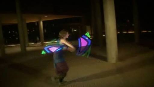 The Future Is Now: Awesome Glow-in-the-Dark Poi Dance