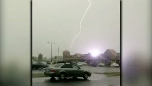 Mother Nature Unleashes a Lightning Fury