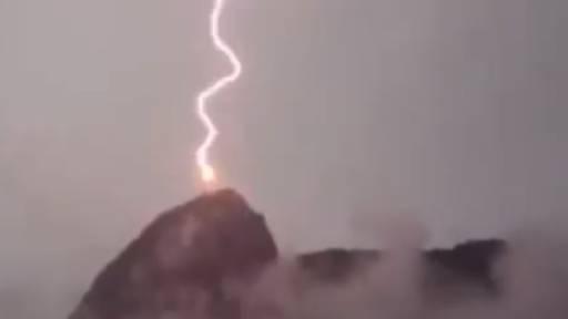 Lightning Strike From the Heavens!