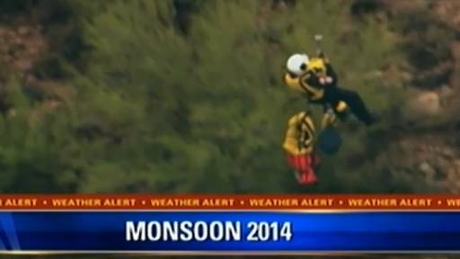 LIVE: People Stranded in Home During Arizona Monsoon