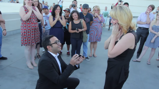 Man Travels Many Miles for Love and a Romantically Awesome Proposal
