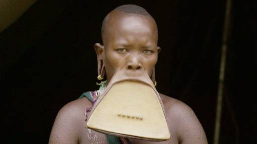 Ethiopian Woman Gets Massive Lip Piercing to Attract a Husband