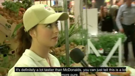 Pranking 'Experts' With a New 'Organic Version' of McDonald's Food