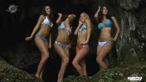 Dolphins vs. Saints: Bikini-Clad Cheerleaders Are Feeling '22'