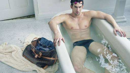 Michael Phelps in Sexy Louis Vuitton Ad