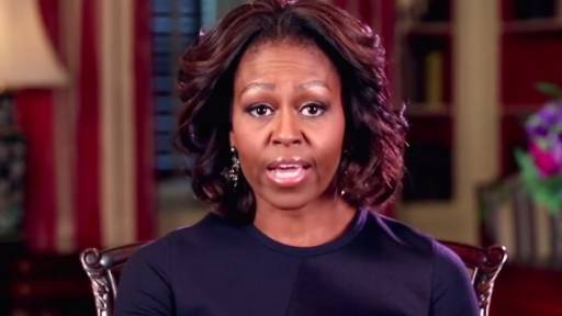 First Lady Gives Your Kid a College Pep Talk