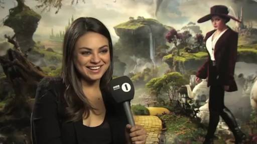 Another Charming Mila Kunis 'Oz' Interview With Mario