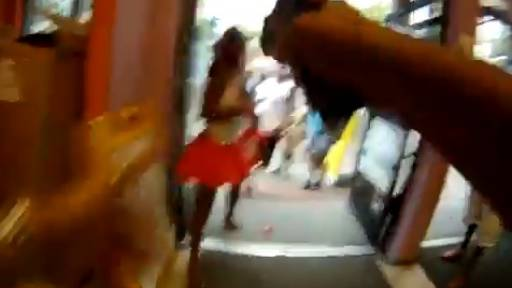GRAPHIC: Unruly Mother Tased by Security Guard