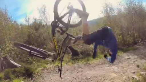 When You Fail on a Mountain Bike, Your Body Pays the Price