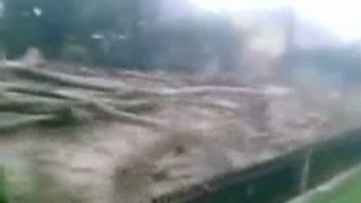 Flooding Leads to Massive Mudslide in Serbia
