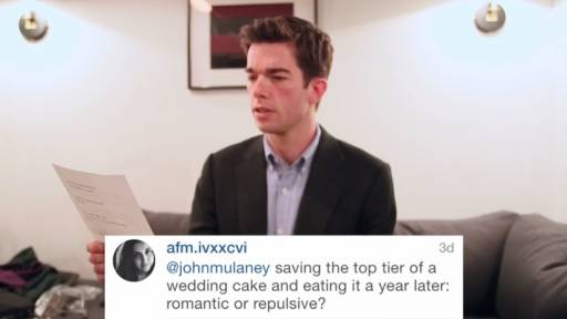 Wedding Advice from a Comedian