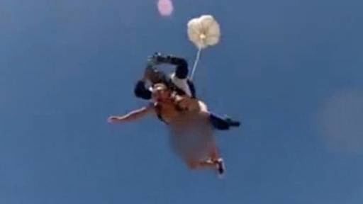 Sky Dive Naked for Charity