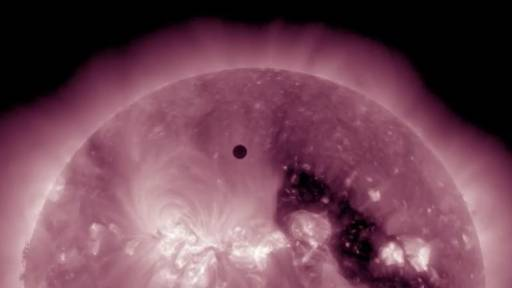 NASA's High Definition View of the 2012 Venus Transit
