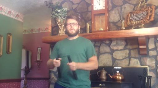 Practice Makes Perfect When It Comes to Nunchucks... Or Not