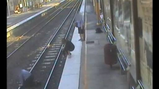 Student Nurse Called Hero After Saving Man From Train