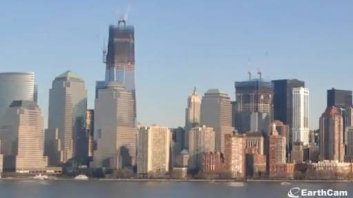 9-Year Time-Lapse of the Rise of One World Trade Center