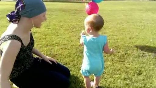 Toddler Offers an Epic Goodbye for Her Pacifier