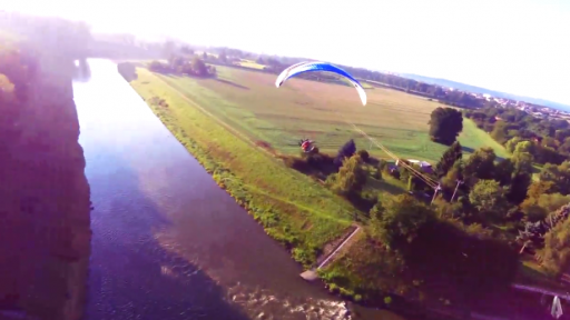 Paragliders Show Us the Breathtaking Countryside of the Czech Republic