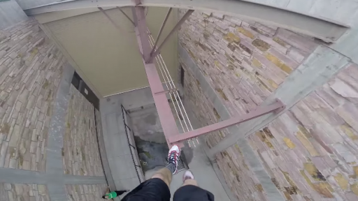 Parkour Training From a First-Person POV