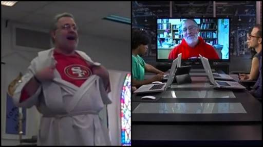 Exclusive: RightThisMinute Talks With 'The 49ers Pastor'