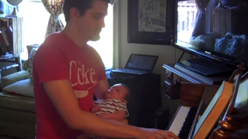 One-Handed Piano Sonata for the Pianist With a Baby