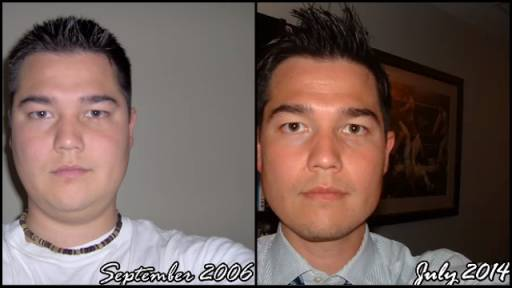 Guy Takes 8 Years Worth of Daily Selfies
