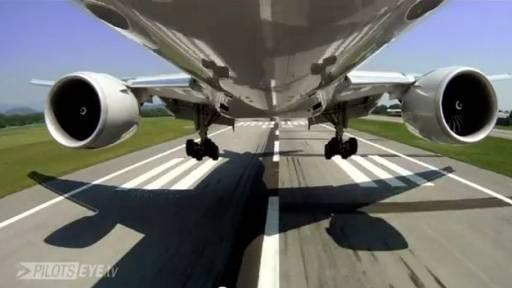 Unique Perspective of a Plane