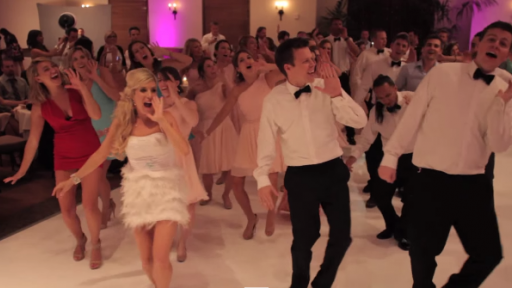 Rebecca Zamolo Is 'Halfway Hitched' and Flash Mobbing Her Own Wedding