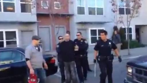 Police Confrontation Creates a Stir