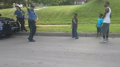 Police Officer 'Gets Owned' By Kids During Dance-Off