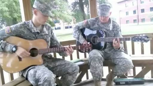 Military Duo Produces Inspirational Jam 'Proud of Who I Am'