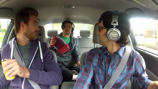 Flula Has to 'Push It Real Good' With Rhett & Link