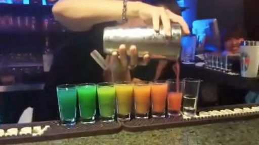 Rainbow Shots: Hopefully Taste as Good as They Look!