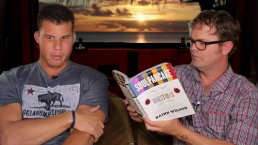 Blake Griffin Opens Up to Rainn Wilson in Back of Van