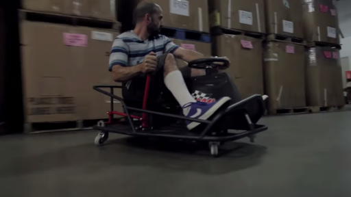 New 'Crazy Cart XL'  Is the Perfect Gift for the 'Big Kid' in Every Adult!