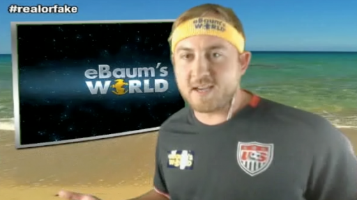 Real or Fake With eBaum's World: Water Slinky, Tinted Window Shaving, Treadmill Fail