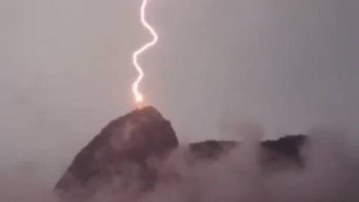 A Lightning Show of Biblical Proportions