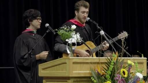 Rhett & Link Hit Graduates With Facts of Life Song