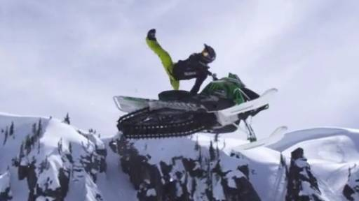 Original: Top Athletes Shred It Up for Season Finale Heli Shoot