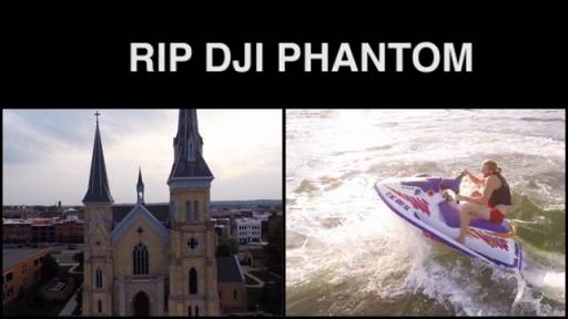 Guy Creates Memorial Video Dedicated to His Drowned Drone