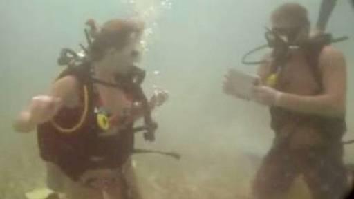 Riviera Maya Proposal Under the Sea