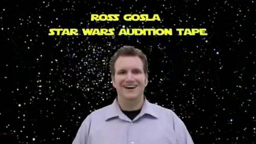 Aspiring Actor Uses the Internet to Audition for Star Wars