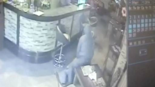 Russian Bars Aren't Safe from Robbers
